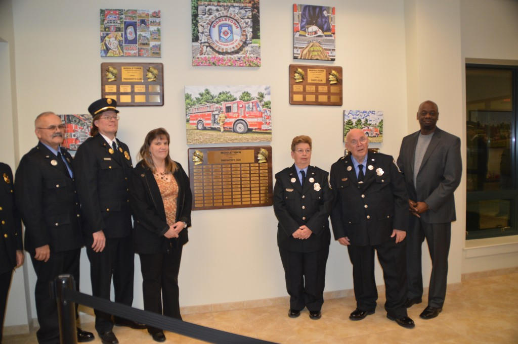 2016 Plaque Dedication Ceremony Middletown Volunteer Fire Company