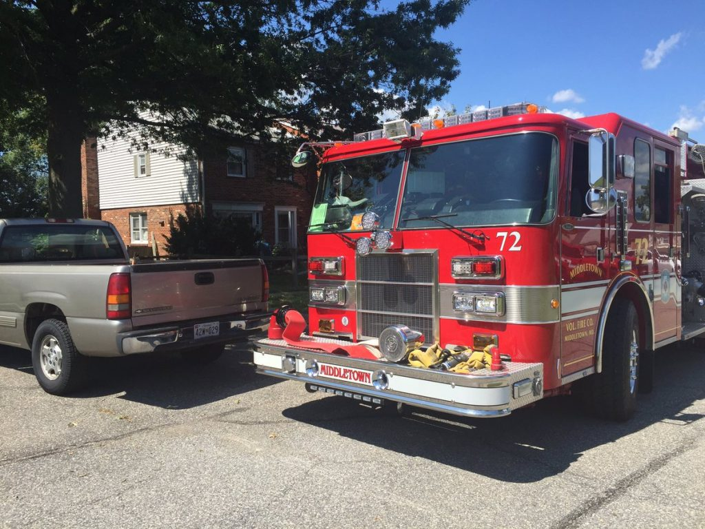 MVFC CO 7 responded to a Small fire in bathroom with 1 w/smoke inhalation.